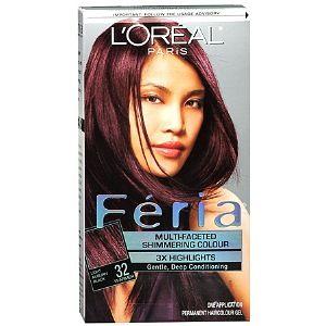 L Oreal Feria Midnight Ruby Hair Dye Hair Colors Styles