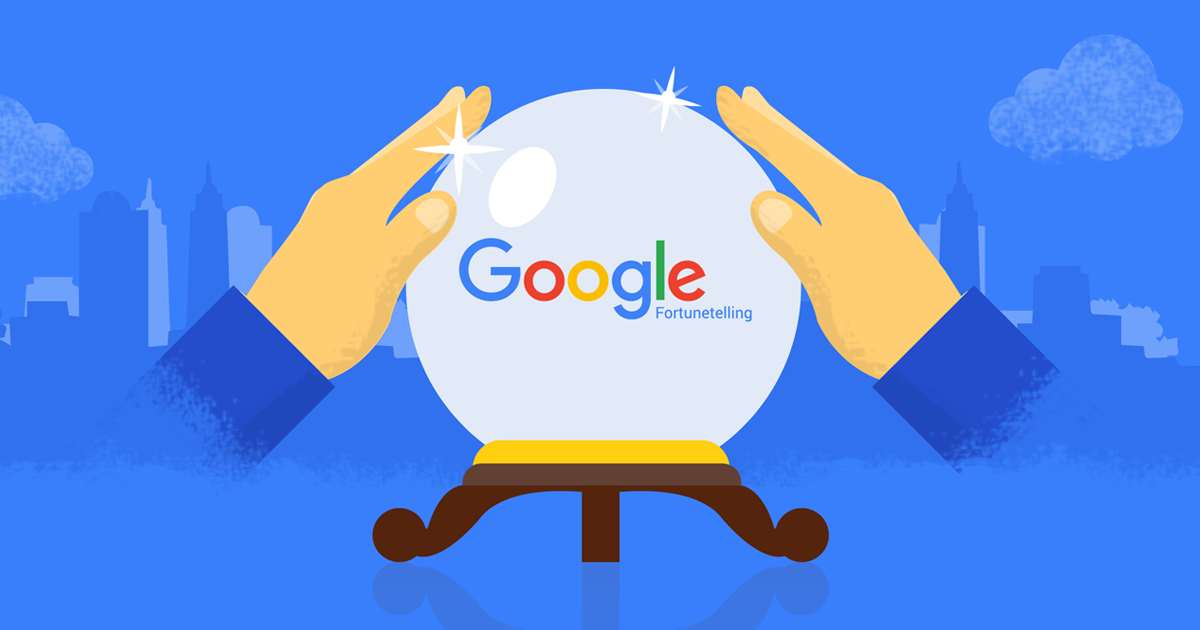 With our latest addition to Google we try to experiment