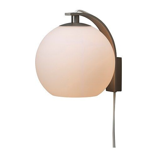 Ranarp wallclamp spotlight off white walls lights and bedrooms ikea minut wall lamp can be mounted with the light turned up or downves a soft mood light mozeypictures Gallery