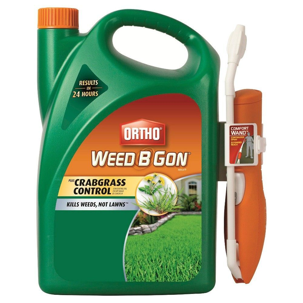 Ortho weed b gon max plus crabgrass control gallon ready to use