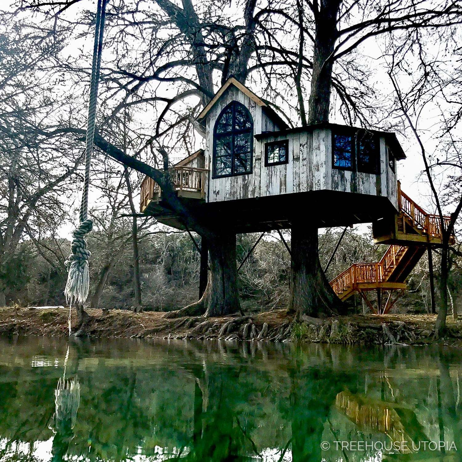 River By Chapelle At Treehouse Utopia A Texas Hill Country