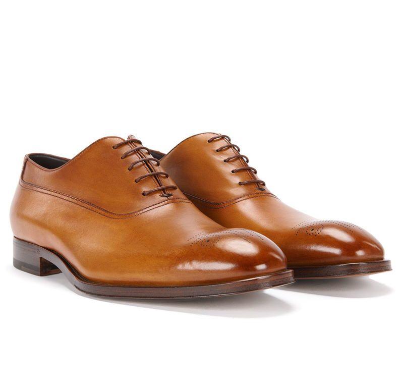Chaussures à Lacets En Cuir T Leggiox Boss Chaussures Homme Hugo
