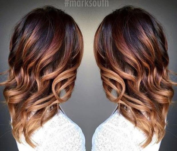 Ombré hair marron caramel  la tendance coiffure de la rentrée à suivre  impérativement ! , Coiffure.com