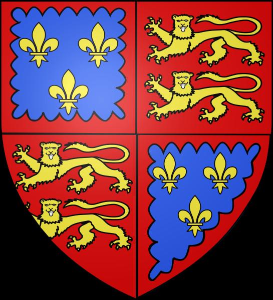 Histoire du drapeau normand - Armoiries richard coeur de lion ...