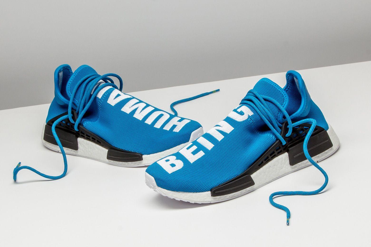 How many pairs of the Pharrell x Adidas Human Race NMD do
