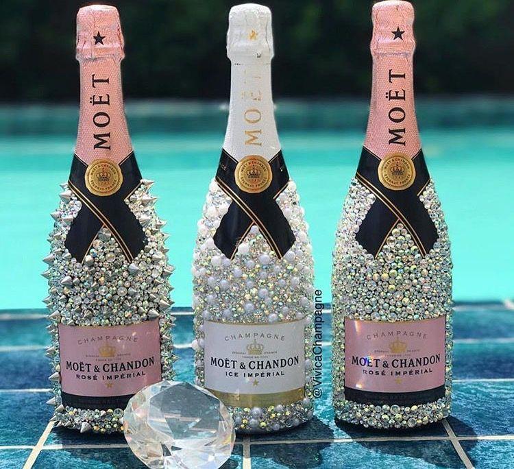 оформление шампанских бутылок в картинках