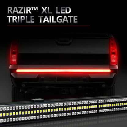 Razir xl backbone beam led tailgate light bar led tailgate light razir xl backbone beam led tailgate light bar mozeypictures Image collections
