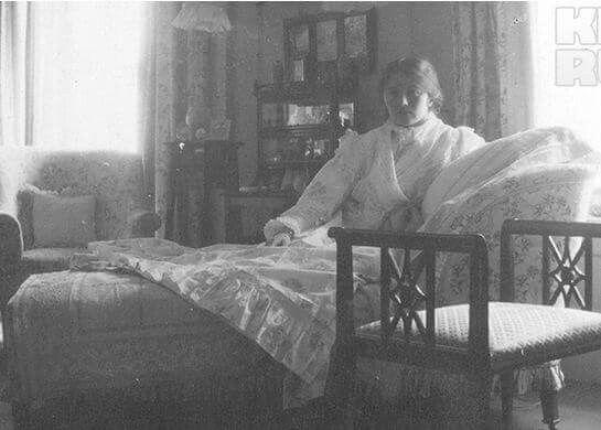 Grand Duchess Olga Nikolaevna Romanova of Russia in 1915.A♥W