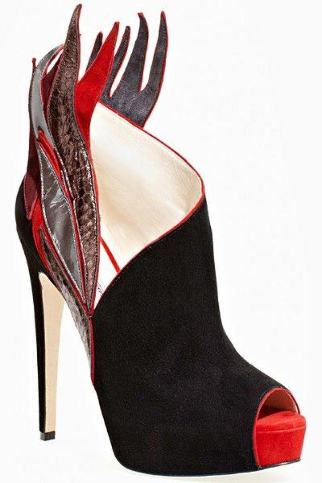 shoe love (com imagens)   Sapato abotinado, Calcanhar