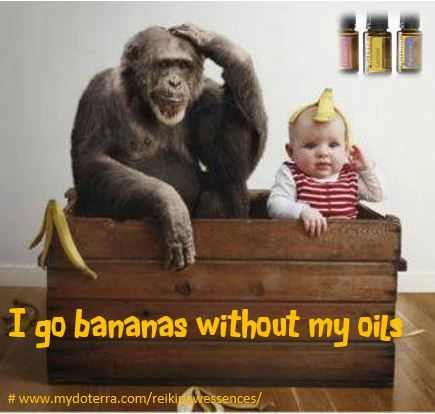 I go bananas without my oils