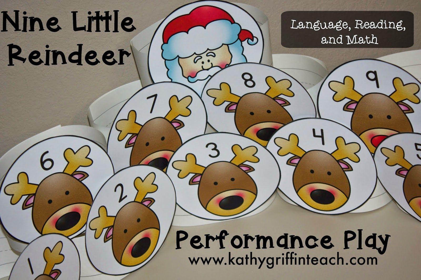 Christmas Reindeer Activities