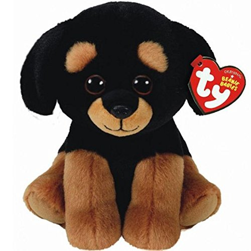 Amazon Com Ty Beanie Babies 6 Trevor The Rottweiler Perfect