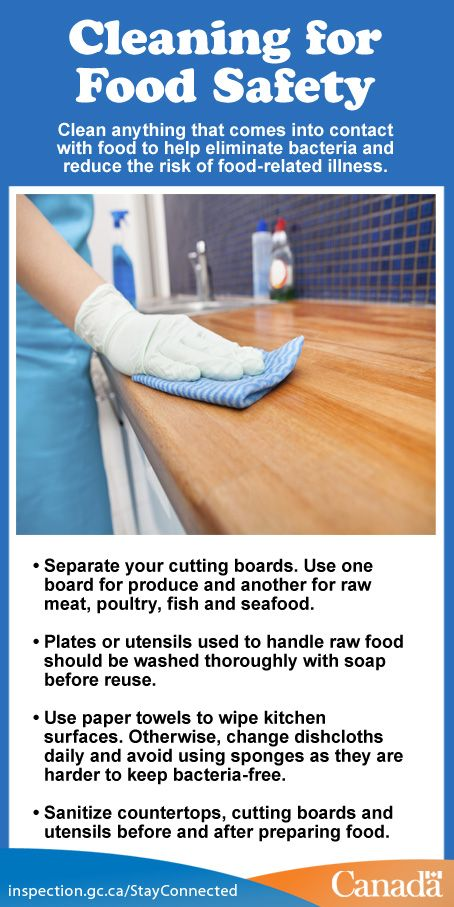 Clean Kitchens Are Safe Kitchens These Tips Will Reduce The Risk Of Food Poisoning At Home Http Www H Food Safety Tips Nutrition Healthy Eating Food Safety