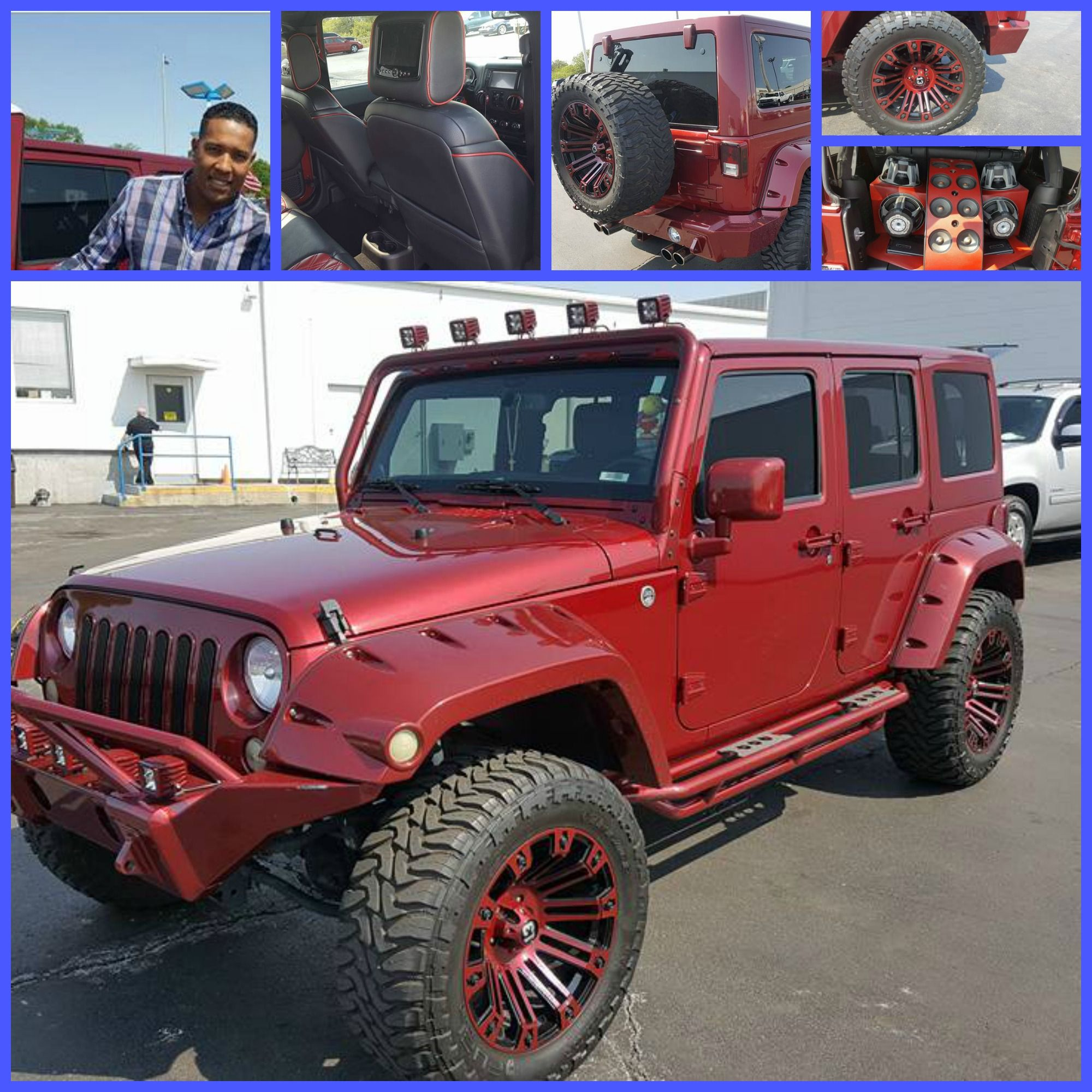 Salvador Perez is selling his Jeep and the used car team at Cable