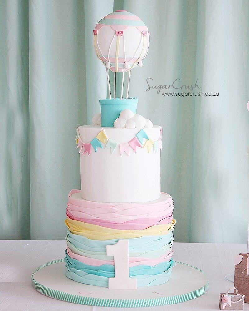 کیک تولد With Images Balloon Birthday Cakes