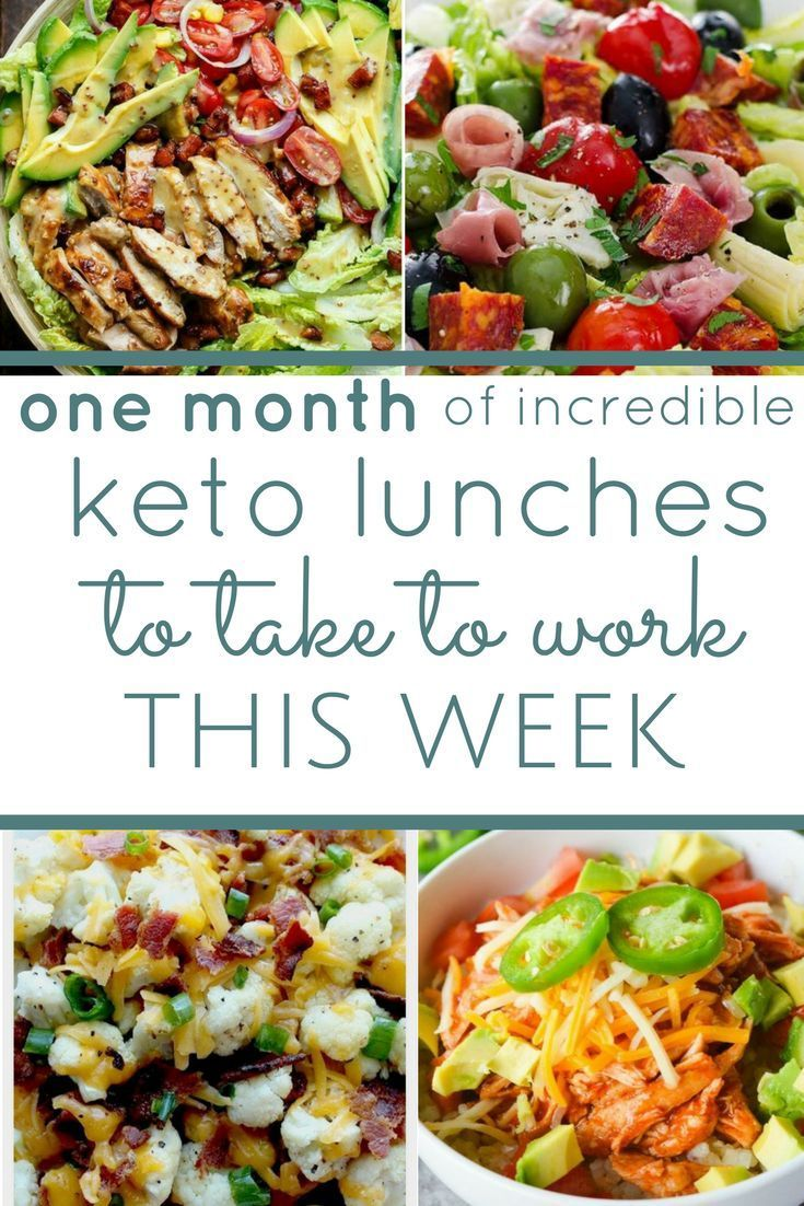 20 Keto Lunches to Take to Work - food and dranks -