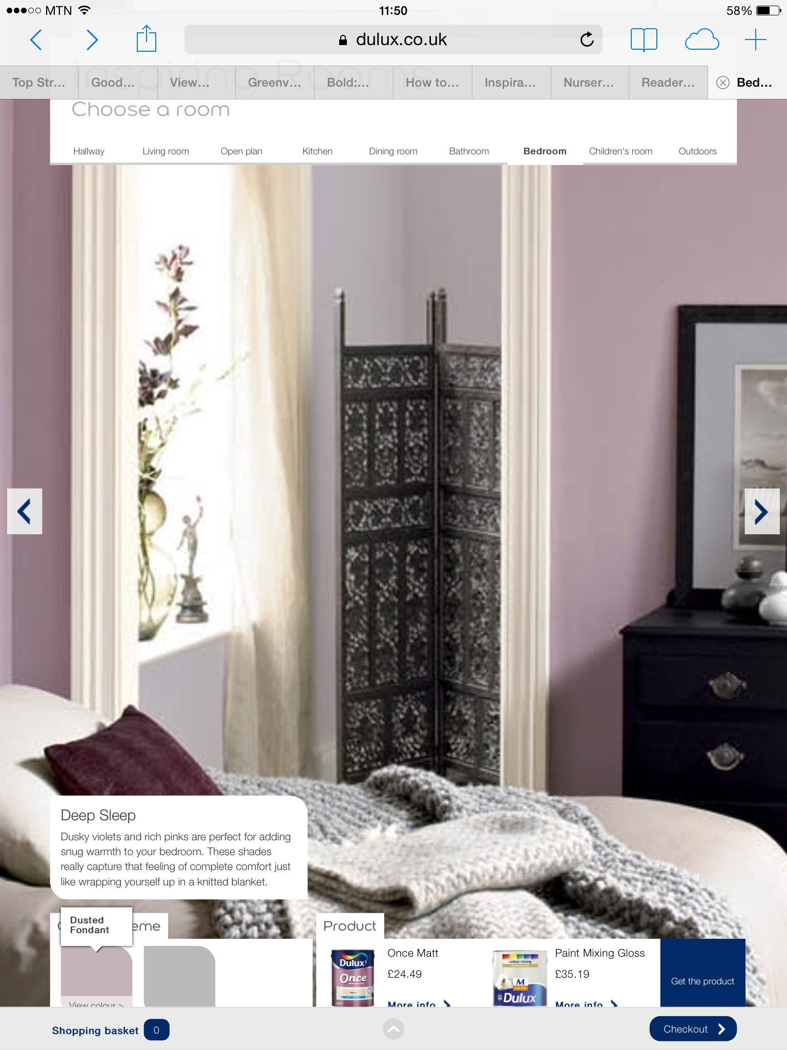 Using Dusted Fondant And Chic Shadow Dulux For Bedroom Paint Refresh Small Colors