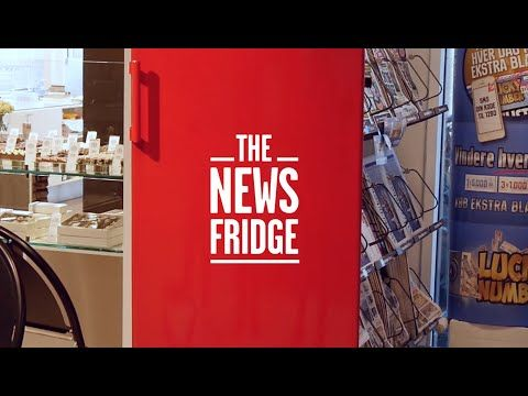 The News Fridge Activation Ideas Ads Ads Advertising Out Of