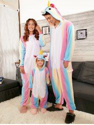 40416d00d Rainbow Unicorn Animal Family Onesie Pajamas
