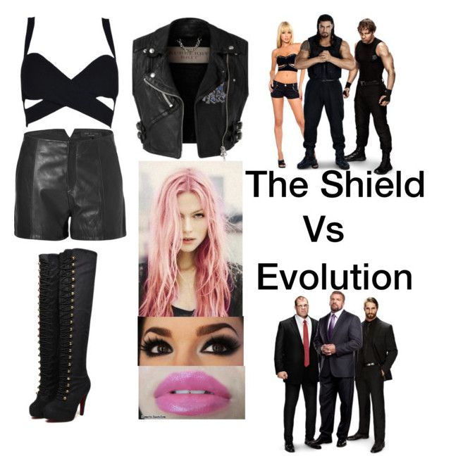 The Shield Vs Evolution by rampaige12 on Polyvore featuring rag & bone, Anna Sui and Kane