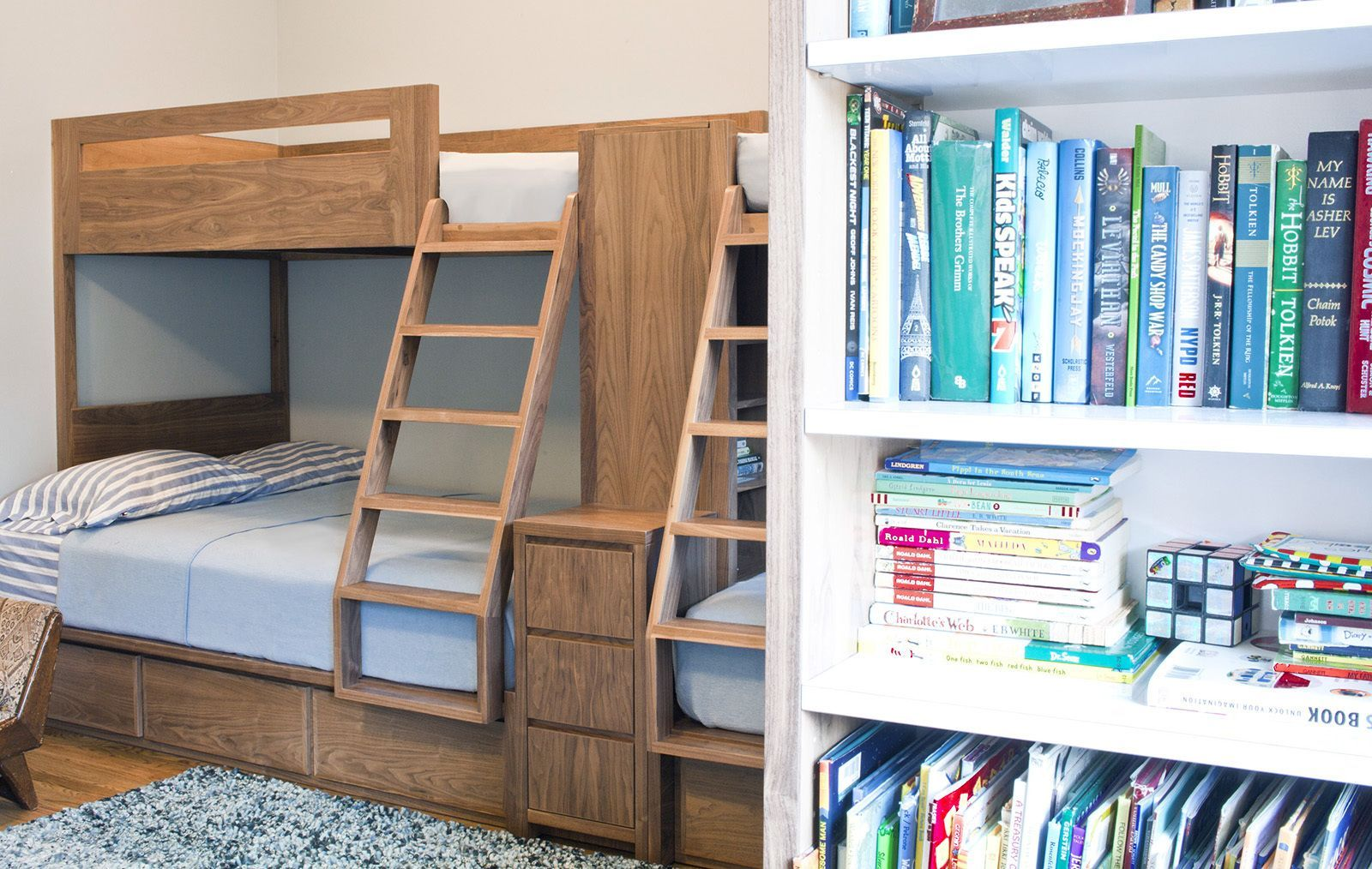 Loft bed with slide and desk  Search