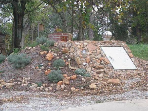 Landscaped Concrete Storm Shelter Joplin Mo Concrete Co Storm Shelter Landscaping Plants Storm Prep