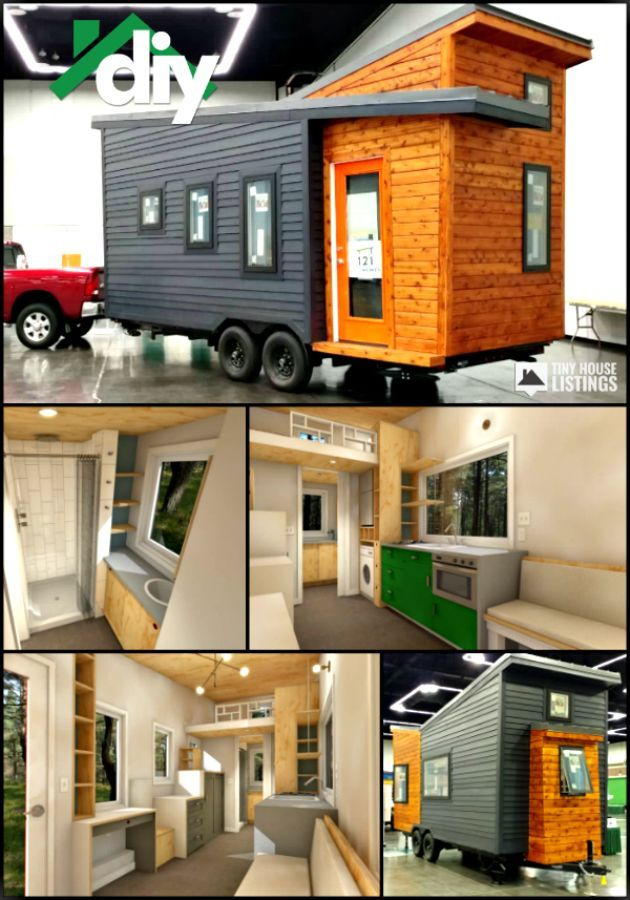 20 Foot Tiny House Home Shell For Sale Finish The