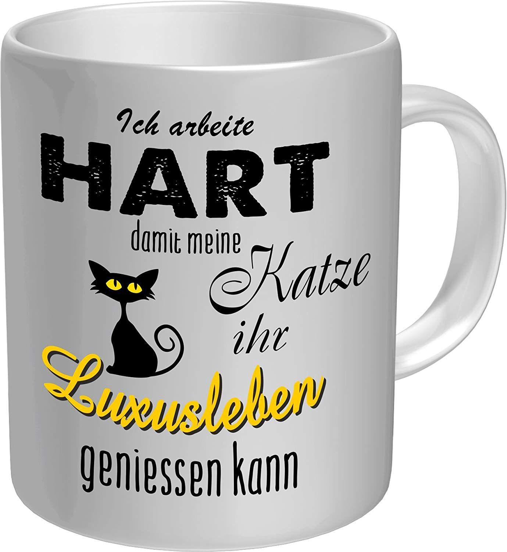 Original Rahmenlos Kaffeebecher Fur Den Katzenliebhaber Ich