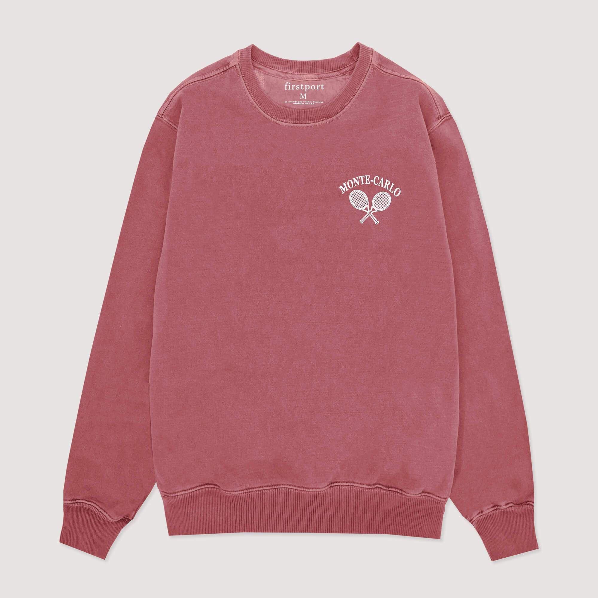 Notesdurable Firstport Crewneck Sweatshirt Details80 20 Garment Dyed Fleece Crewneck Ribbed Trim At Cuff And C Crew Neck Sweatshirt Sweatshirts Rowing Blazers [ 2000 x 2000 Pixel ]