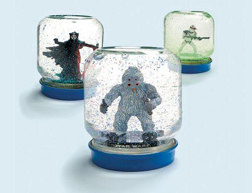 Diy Easy Star Wars Snow Globes Star Wars Kindergeburtstag