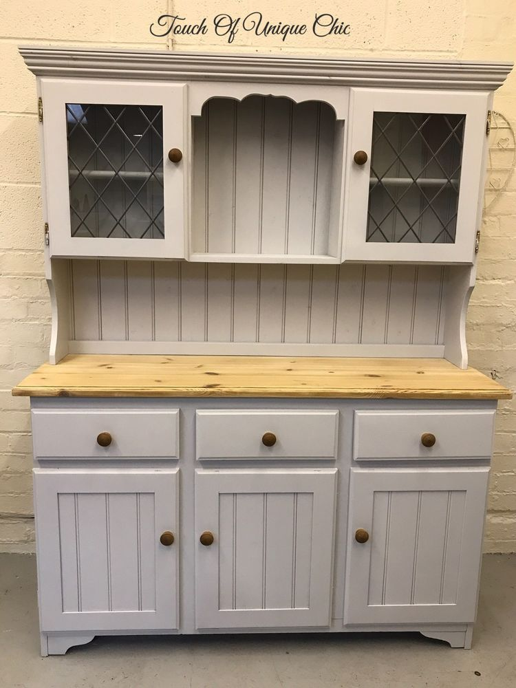 Pine Welsh Dresser Farmhouse Laura Ashley Delivery Available Ebay