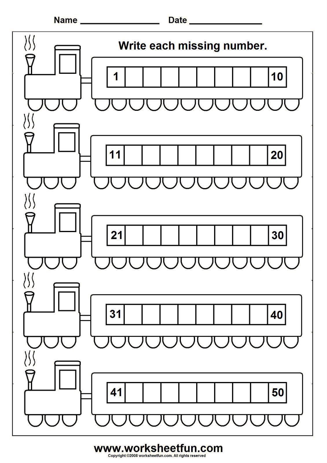 Worksheetfun Free Printable Worksheets Homework Kindergarten Kindergarten Math Worksheets Number Worksheets Kindergarten Kindergarten Worksheets