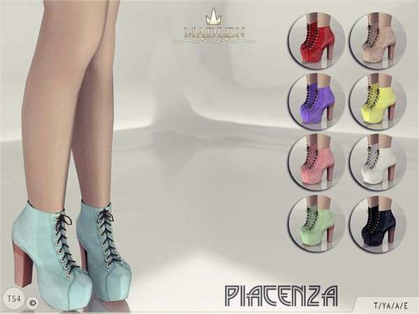 Madlen Piacenza Boots By Mj95 At Tsr Sims 4 Updates Roupas Sims The Sims 4 Roupas Sims