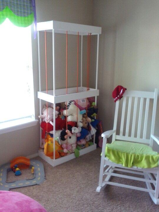 claud 39 s zoo stuffed animal holder nick 39 s woodworking pinterest stuffed animal holder. Black Bedroom Furniture Sets. Home Design Ideas