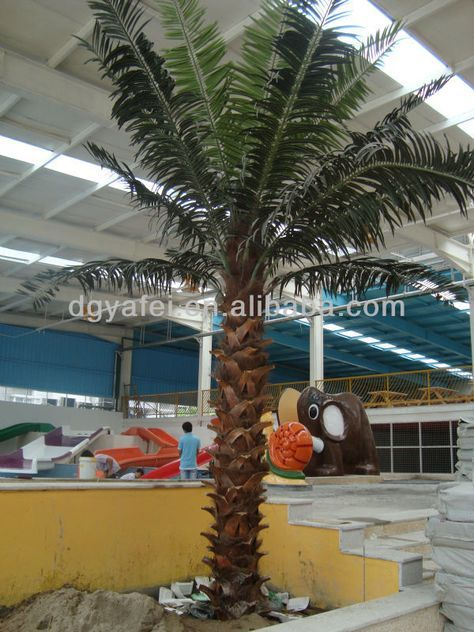 Wholesale Artificial Plant Artificial Fake Palm Tree Indoor Outdoor For Decoration And Landscaping Fake Indoor Trees Indoor Palm Trees Fake Palm Tree