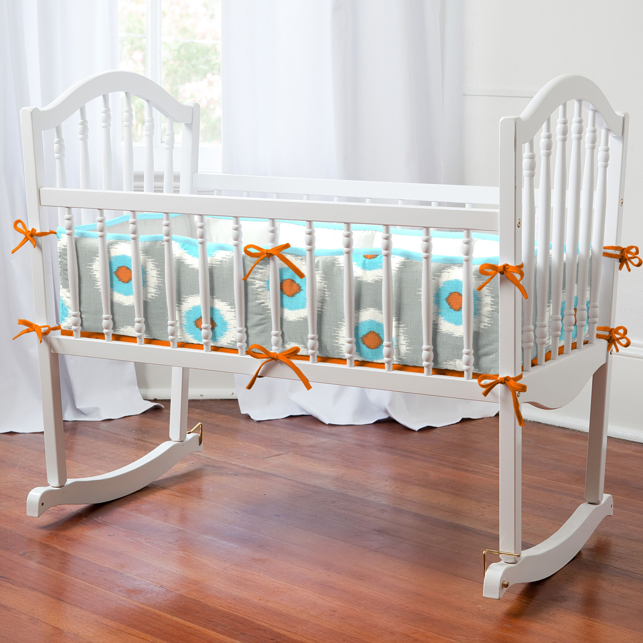 Orange Bedding Collections Home Cradle Bedding Gray And
