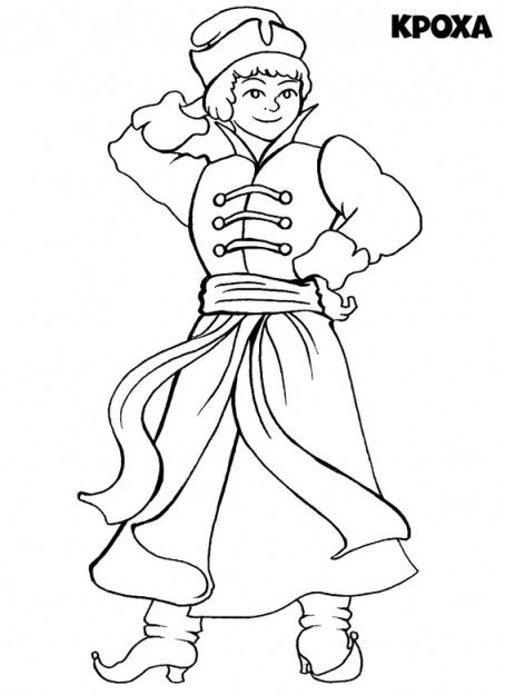 russian folk art coloring pages - photo#21