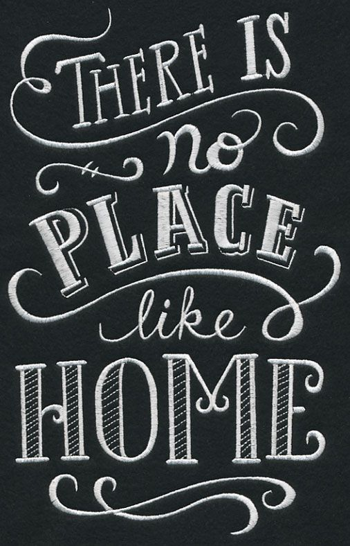 Chalkboard Quotes New There Is No Place Like Home House Decor Pinte
