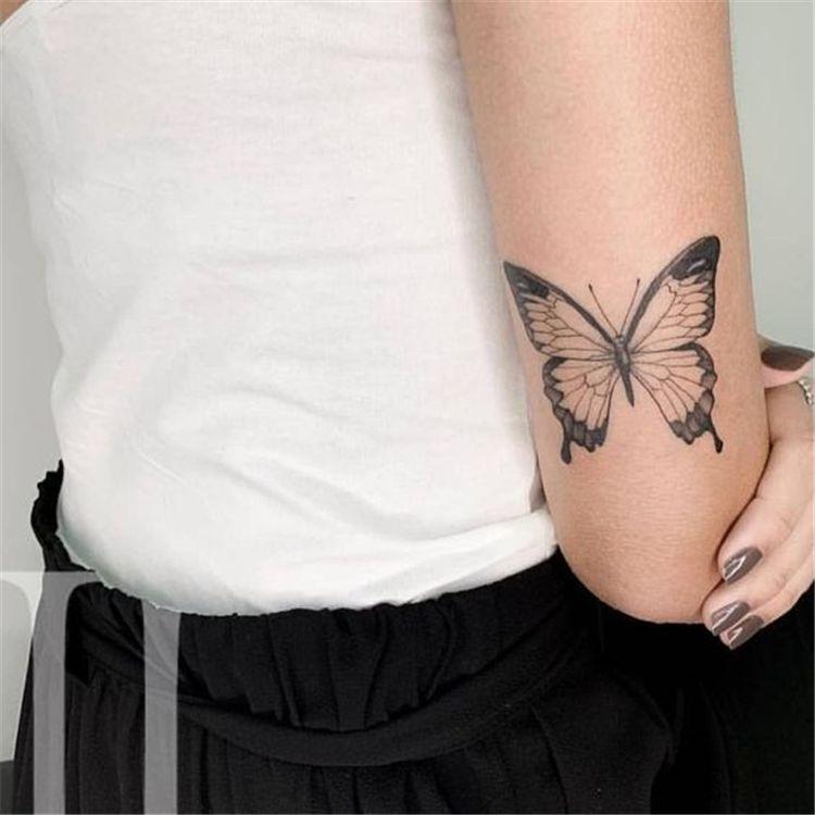Butterfly Tattoo Ideas You Will Love Butterfly Tattoo Small Butterfly Tattoo Shoulder Butterfly Tattoo Back Butte In 2020 Butterfly Tattoo Tattoos Body Art Tattoos