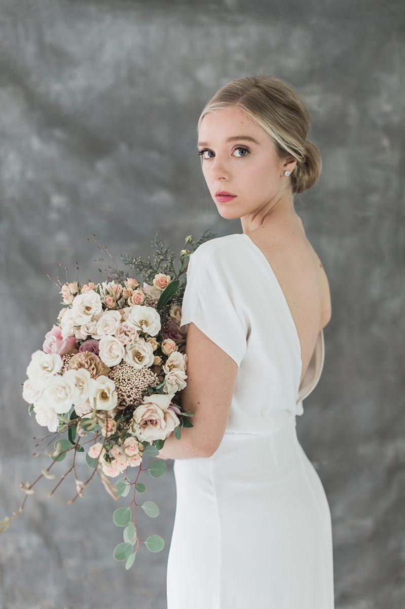 The Patricia dress back | Lena Medoyeff Studio | Bridal | Gina Neal wedding photography