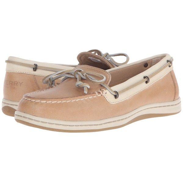 Sperry Top-Sider Women's Jewelfish Lace Linen/Oat Boat Shoe - My Comfort  Shoes