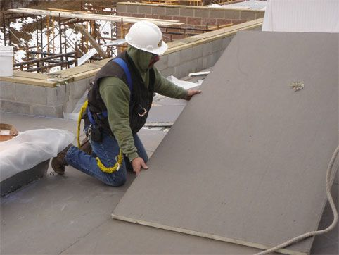 Flat Roofing Contractors Calgary Flat Roofing General Roofing Systems Canada Grs Roofing Roof Repair Flat Roof Repair