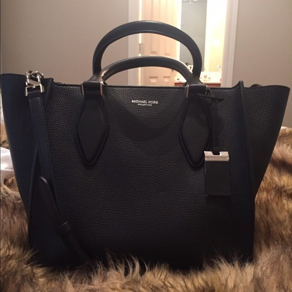 b206157e9f73 Michael Kors Bag · Michael Kors Collection Gracie Medium Leather Tote Never  been used before! NO TRADES. It