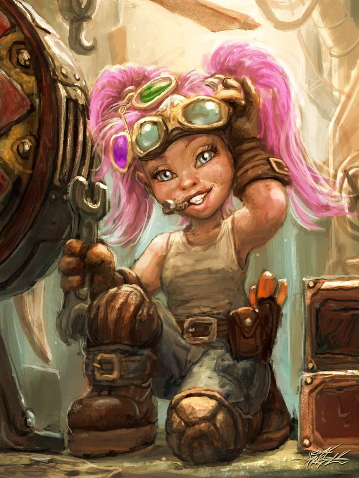 Gnome Lore in Dungeons and Dragons | Warcraft art, Dungeons and dragons,  Female gnome