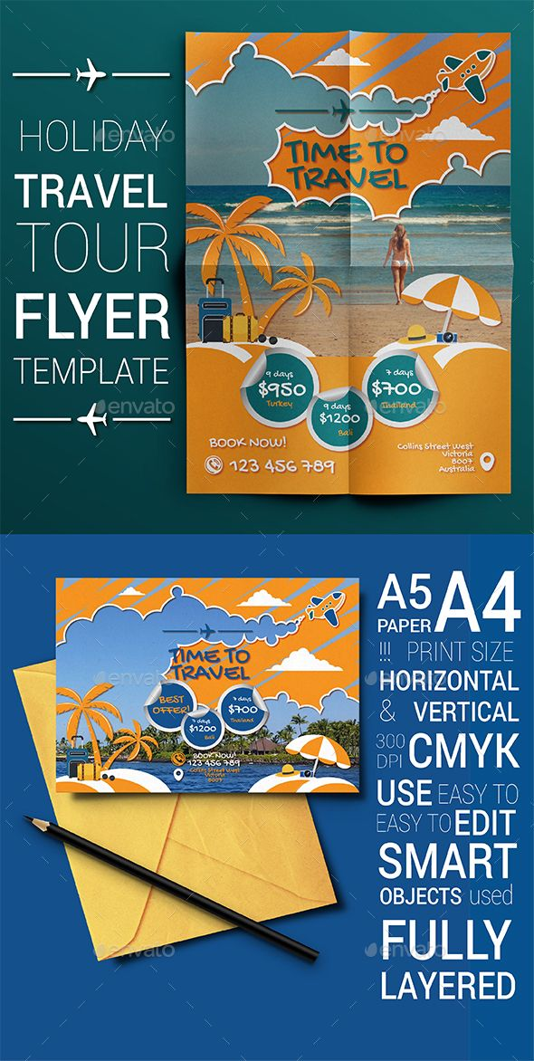 These Templates Are Perfect For Any Kind Of Travel Holiday Or