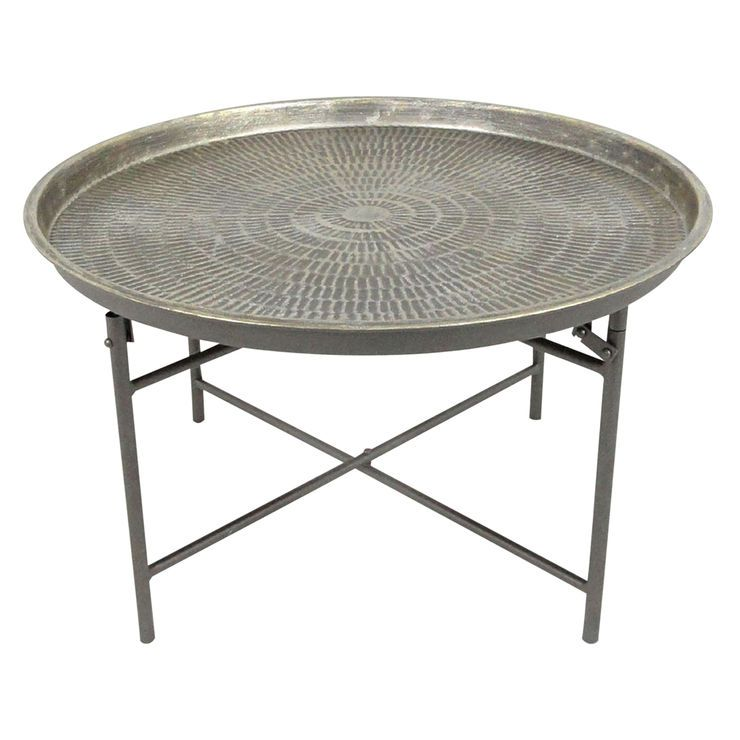 Superb Round Metal Coffee Table