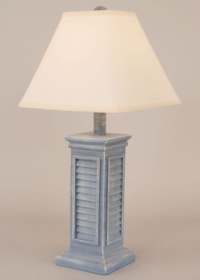 Blue shutter table lamp shop at seaside beach decor seaside blue shutter table lamp shop at seaside beach decor aloadofball Gallery