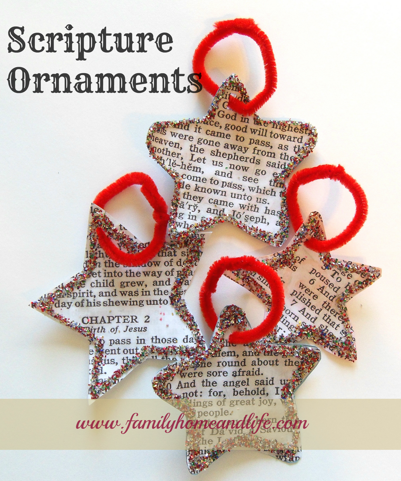 Scripture Ornaments Use Bible Program Like Esword Or