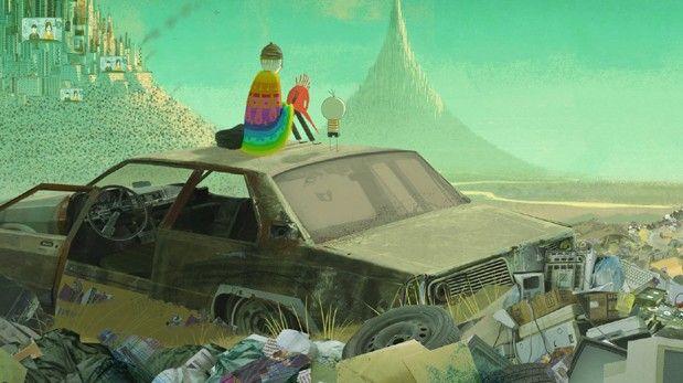 """""""O Menino e o Mundo"""", un film para los amantes de la animación. Visto y disfrutado en el Festival de cine de Gijón. Muy poético, a la vez que reivendicativo y de una impresionante belleza plástica. Altamente recomendable."""