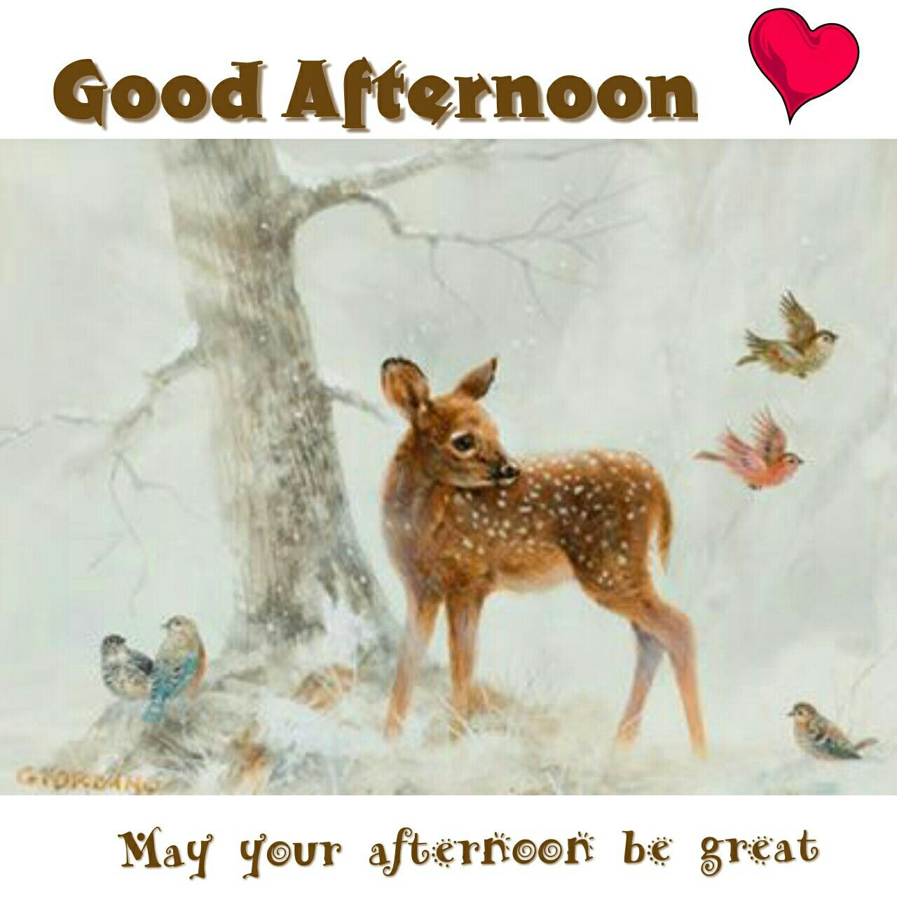 Image result for good afternoon winter  images